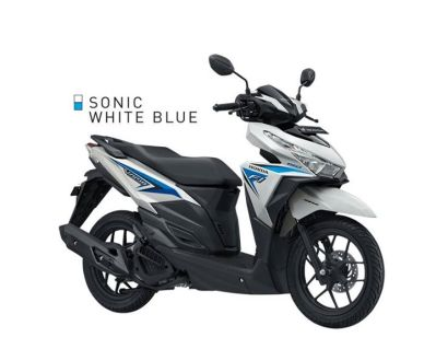 Sonic White Blue