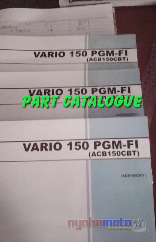 Honda Vario 150cc_part catalogue