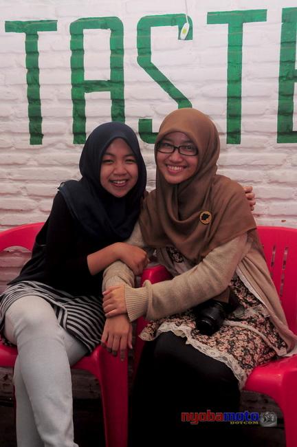 Bersama rekan blogger  :)