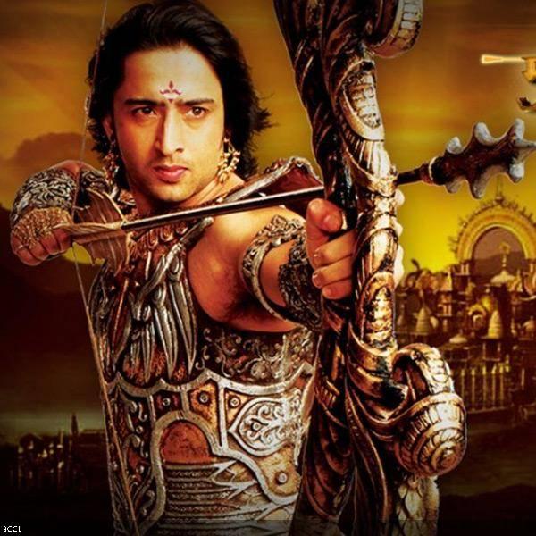 """Saheer """"Arjuna"""" Sheikh Properti kostum dan panah membuatnya berbeda"""