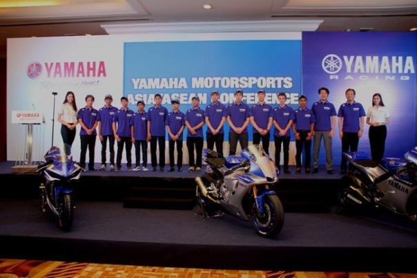 Tim balap Yamaha di ARRC 2015