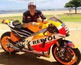 Saat Launching Honda RC213V 2015 di nusa Dua Bali