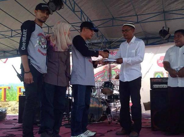 Jambore BeAT 2015 Penyerahan Bantuan