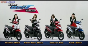 Pilihan Warna Honda Beat eSP