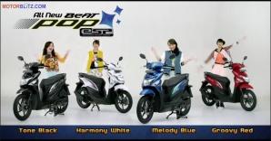 Pilihan warna Honda Beat Pop eSP
