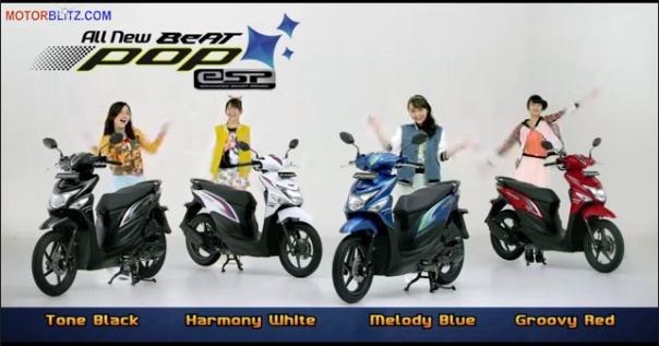 Pilihan warna Honda Beat Pop eSP