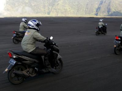 Tour de Soul naik All New Soul GT 125 menyusuri kawasan Gunung Bromo Probolinggo Jawa Timur (2)