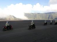 Tour de Soul naik All New Soul GT 125 menyusuri kawasan Gunung Bromo Probolinggo Jawa Timur