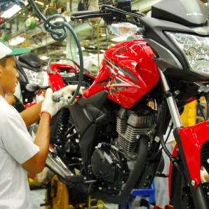 Honda Verza dirakit di pabrik
