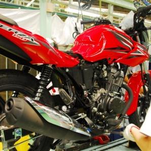 Honda Verza proses dirakit di AHM