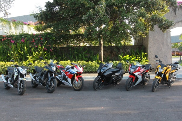 6 Big Bike Honda