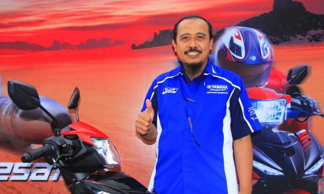 - Mohammad Masykur - Asisten GM Marketing PT. YIMM