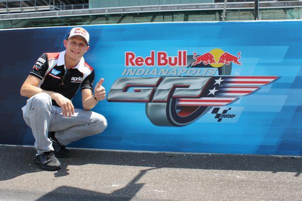 Siap balapan di Indianapolis dengan Aprilia