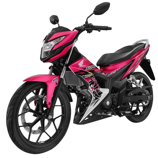 Honda Sonic 150R purple