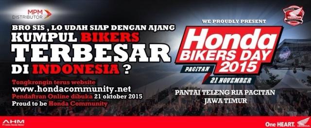 Honda Bikers Day 2015 - Pantai Teleng Ria Pacitan -