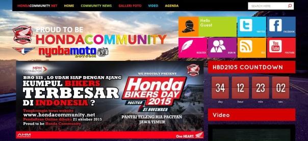 Halaman Honda Community