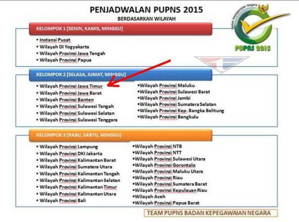 Untuk Wilayah Jawa Timur
