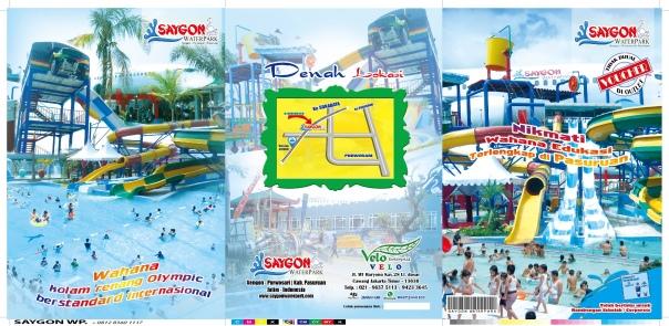 Ini tiket SAYGON Water Park seharga Rp. 80.000,-