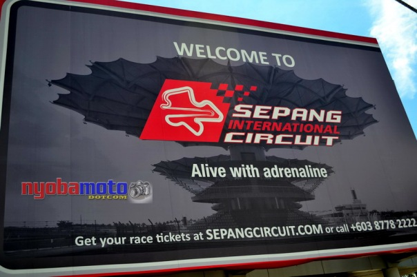 Billboard di Sirkuit Sepang