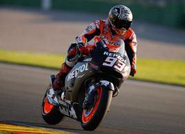 Marc Marquez Tercepat Latihan di Valencia menggunakan Michelin dan ECU baru