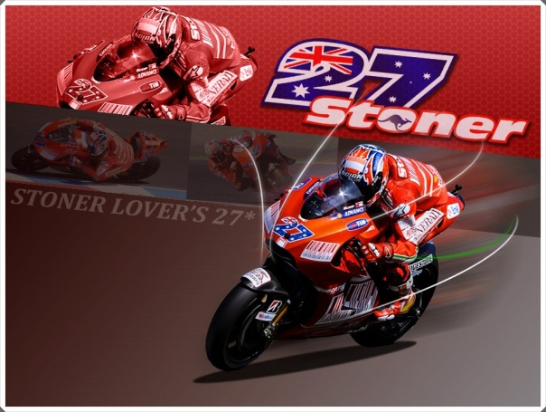 Ducati Juara Dunia bersama Casey Stoner