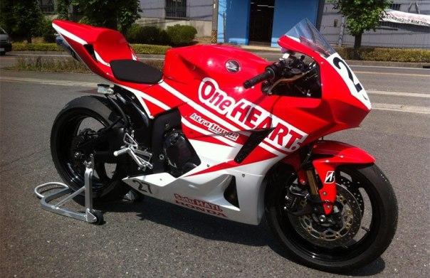 Ilustrasi : Honda CBR 600 RR race verison Calon Tunggangan Yudhistira