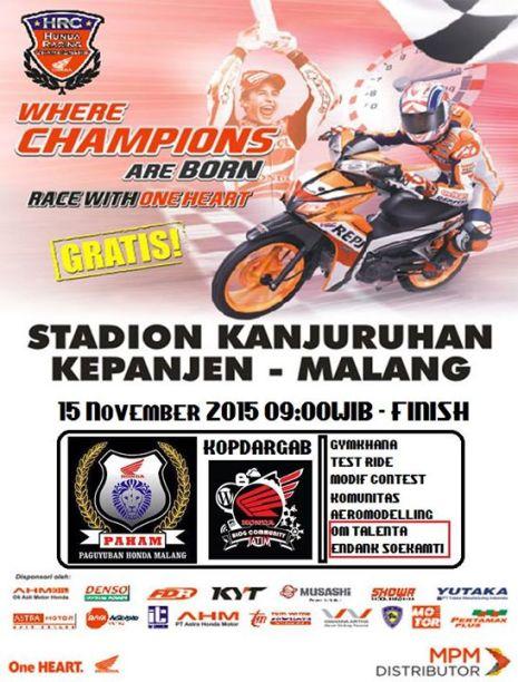 HRC_Honda Racing Championship Seri Malang 2015