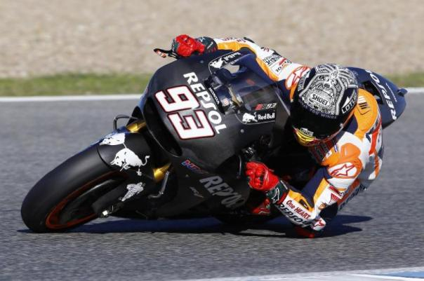 Marc Marquez - Test RC213V 2016 + ECU Magneti Marelli + Michelin -
