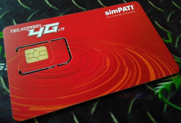 Sim Card baru Telkomsel 4G LTE