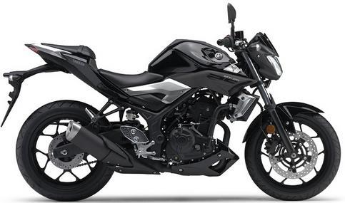 Yamaha MT-25 Hitam