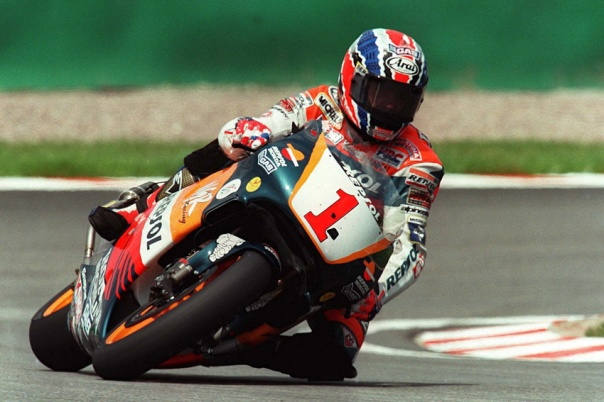 Sachsenring; Mick DOOHAN/AUS - 500 ccm -  (Photo by Marcus Brandt/Bongarts/Getty Images)