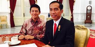Rio Haryanto dan Presiden Jokowi