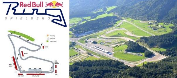 Ini dia Sirkuit Red Bull Ring - Austria