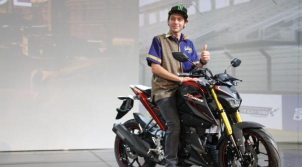 Rossi dan Yamaha Xabre 150