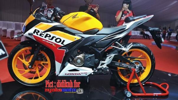 All New Honda CBR150R Repsol Edition