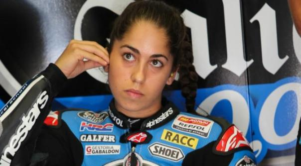 Maria Herrera saat menggunakan Honda