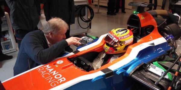 Rio Haryanto di cockpit F1 Catalunya