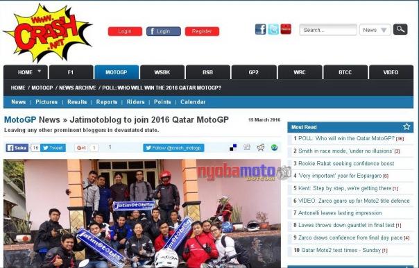 Jatimotoblog saat 4th Anniversary di Villa Pacet  - tebak, mana nyobamoto.com -
