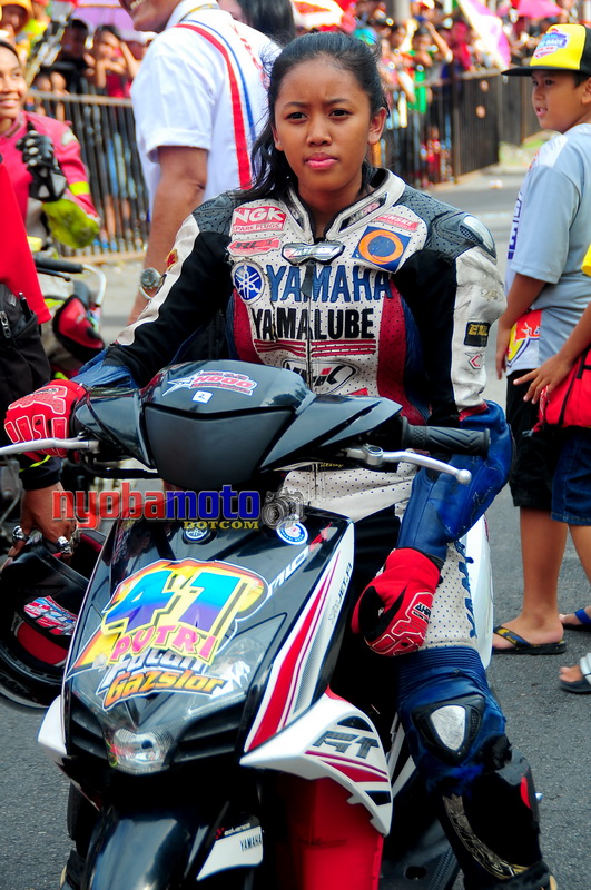 Matic Race Tanpa Batas Blitar_Lady Biker 03