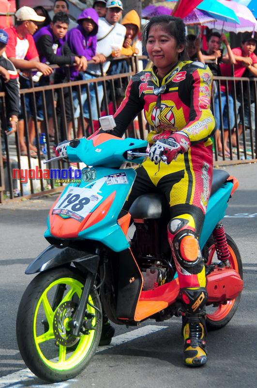 Matic Race Tanpa Batas Blitar_Lady Biker 06