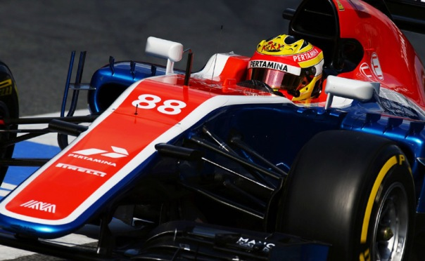 Rio Haryanto (IDN) Manor Racing MRT05