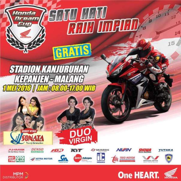 HDC Malang 2016 - Honda Dream Cup -