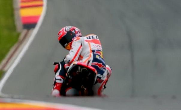 Marc Marquez Pole Position Sachcenring 2016