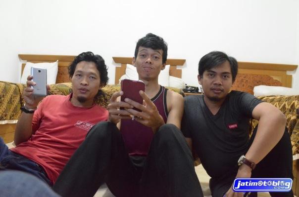 Kopdar Tulungagung_menunggu di hotel