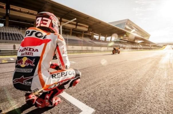 Marc Marquez - RC213V dan Sirkuit