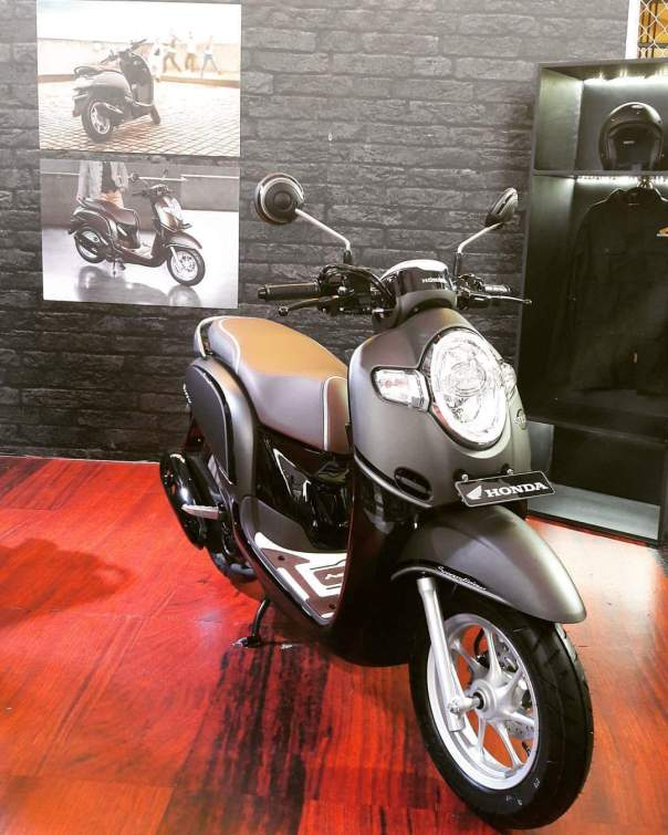 All New Honda Scoopy 2017 BP