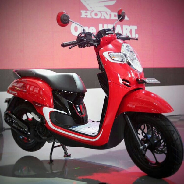 All New Honda Scoopy 2017 wlh