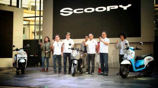 Jajaran Manajemen AHM launch New Scoopy