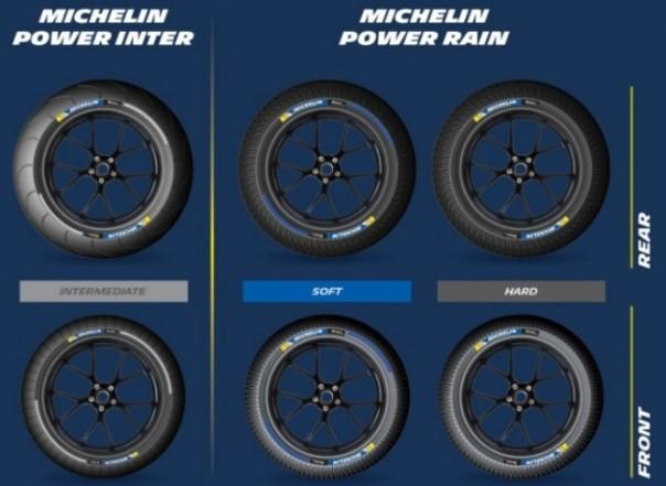 Kode warna ban intermediate dan soft Michelin untuk motoGP 2016