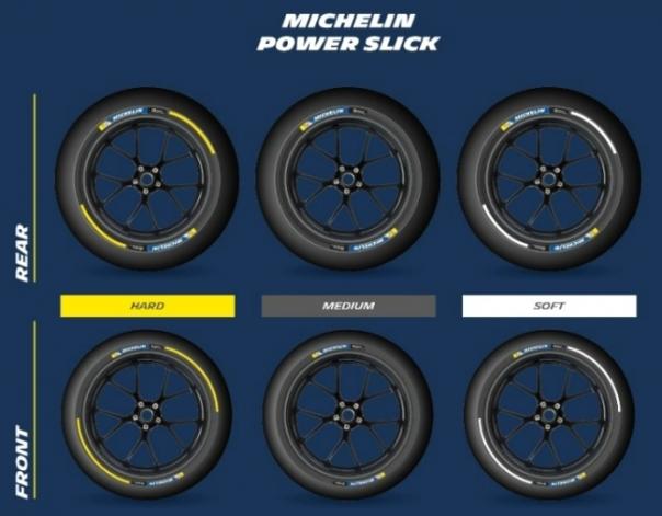 Kode warna ban slick Michelin untuk motoGP 2016